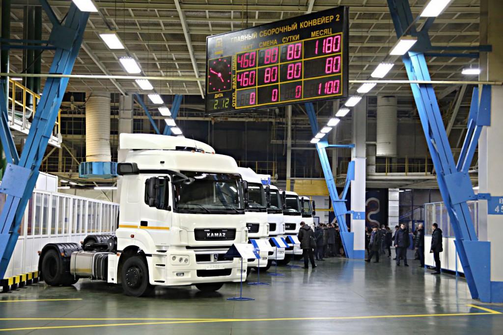 Меньше чем за год «КАМАЗ» удвоил экспорт