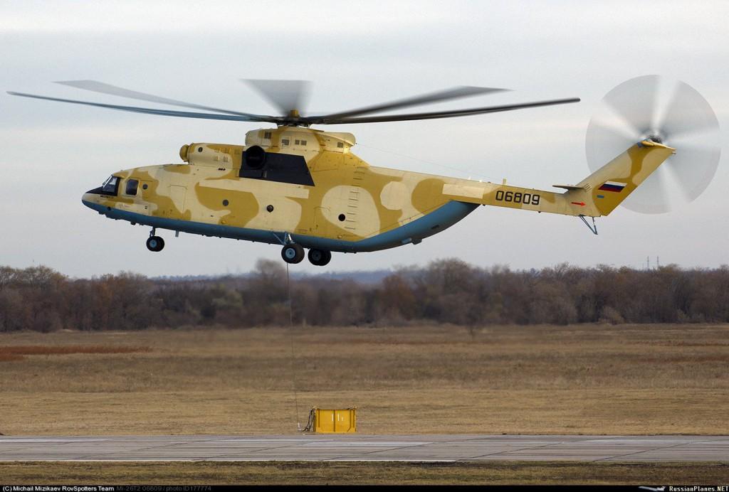 Вторая пара Ми-26Т2 для ВВС Алжира