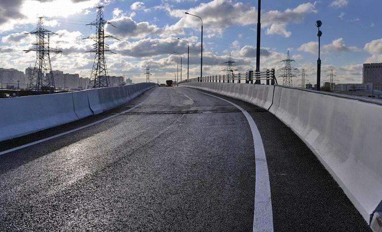 В Москве открыта для движения новая эстакада на пересечении Рязанского проспекта и МКАДа