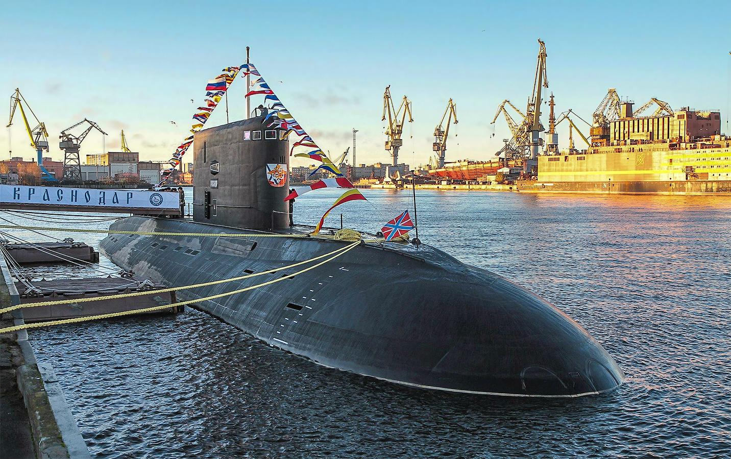 Подводная лодка «Краснодар» передана флоту России
