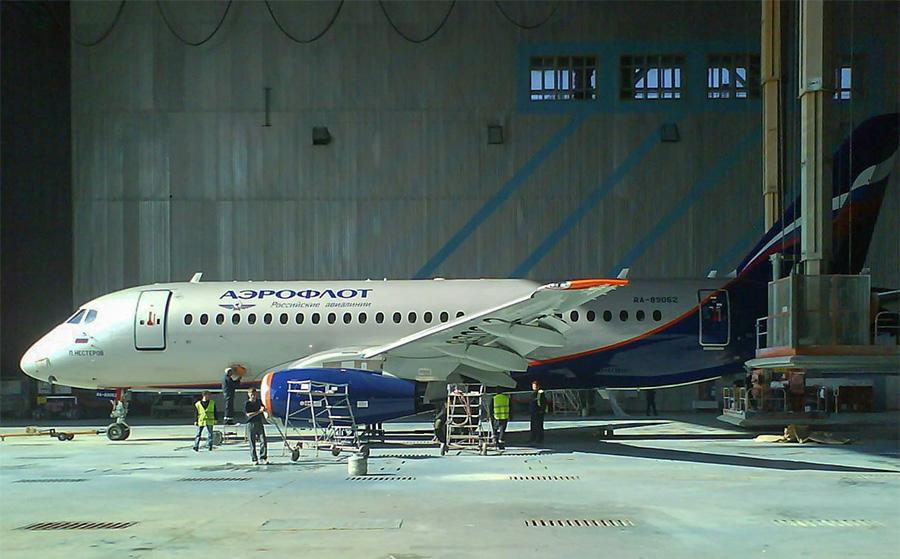 22-й Сухой Суперджет 100 передан авиакомпании «Аэрофлот»
