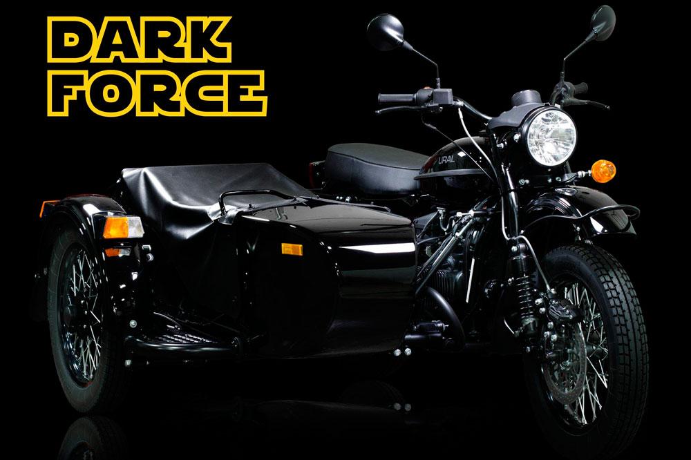 «Урал» выпустил мотоцикл для фанатов фильма «Звездные войны»