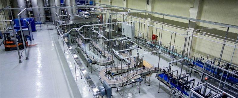 В Железногорске открылось производство безалкогольных напитков и питьевой бутилированной воды