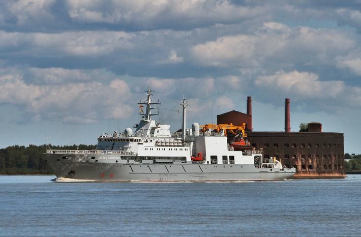 Спасательное судно «Игорь Белоусов» передано ВМФ 2