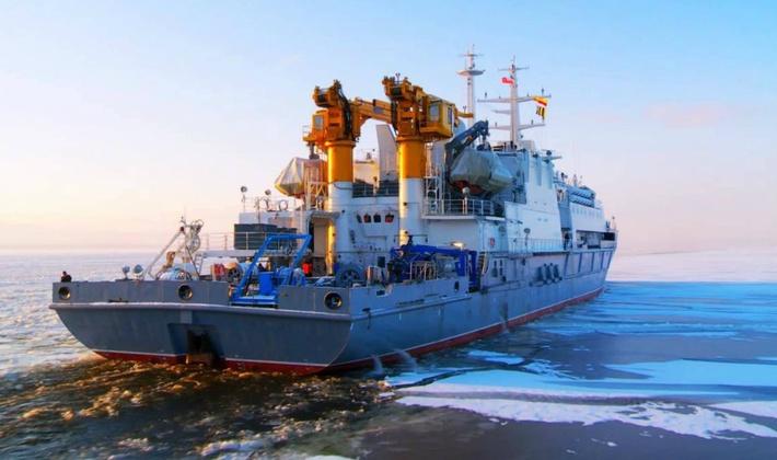 Спасательное судно «Игорь Белоусов» передано ВМФ 3