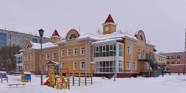 В Омске открылся детский сад на 150 мест