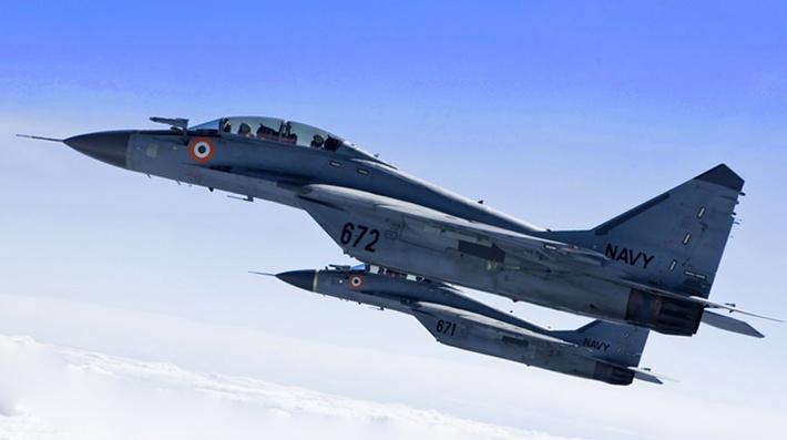 «РСК МиГ» передал Индии 2 истребителя МиГ-29К