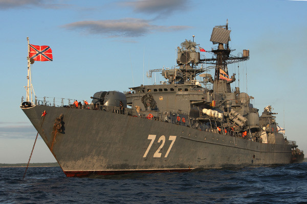 Сторожевой корабль Балтийского флота РФ «Ярослав Мудрый»