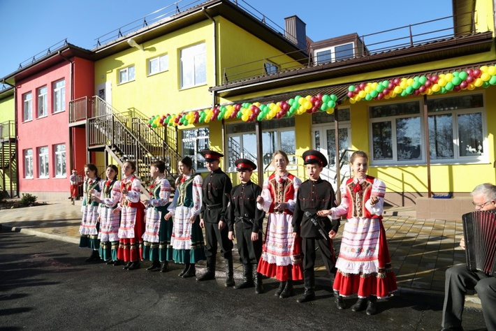 Краснодарский край, новый детсад