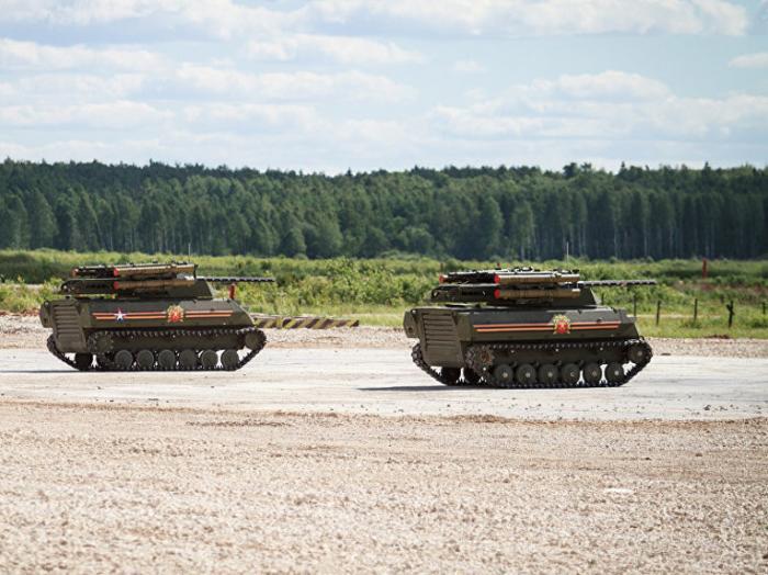 Роботизированный боевой комплекс Уран-9_