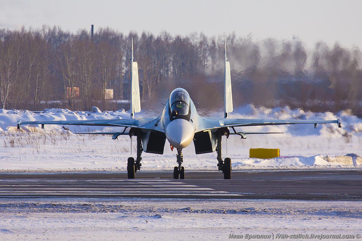 6 истребителей Су-30СМ переданы ВКС России