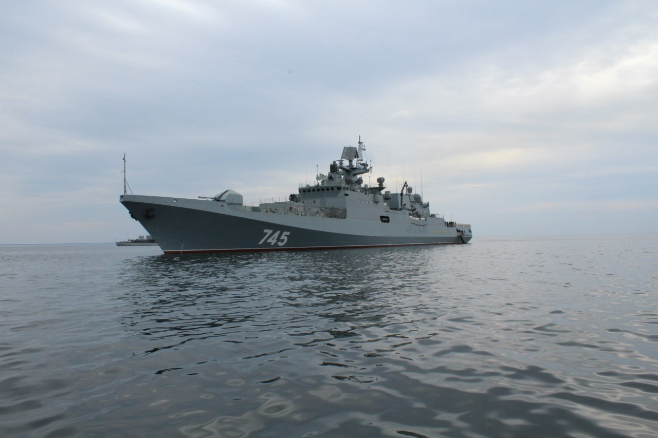«Адмирал Григорович» и «Адмирал Эссен»