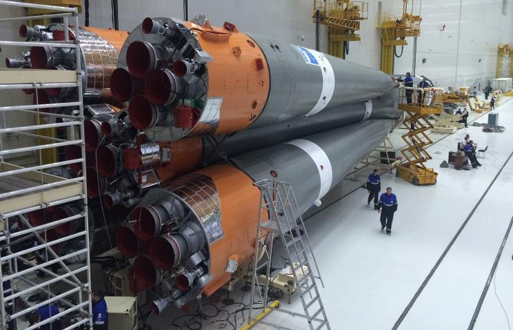Для первого пуска на космодроме Восточный собрали ракету-носитель Союз-2