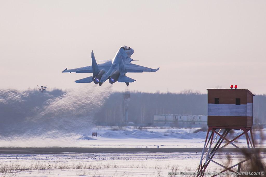 Ещё 6 истребителей Су-30СМ переданы ВКС России