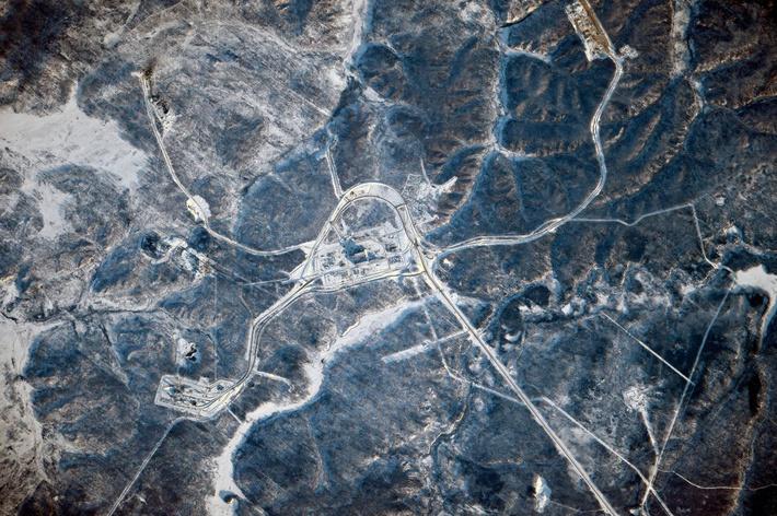 Космонавт Сергей Волков сфотографировал космодром Восточный с МКС