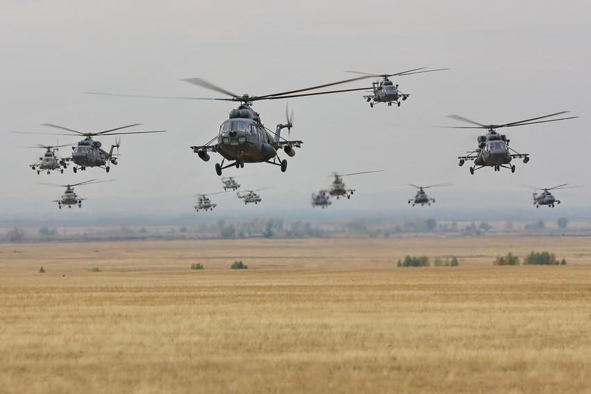 Самые известные модели вертолетов завода имени Миля