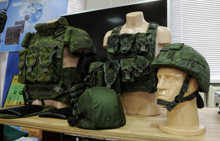 Миротворческая бригада ВС РФ полностью снаряжена экипировкой Ратник