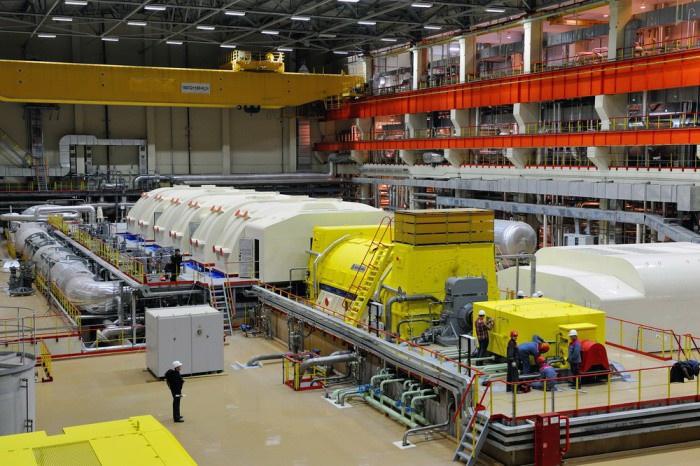 На Белоярской АЭС новый энергоблок выводят на проектные мощности