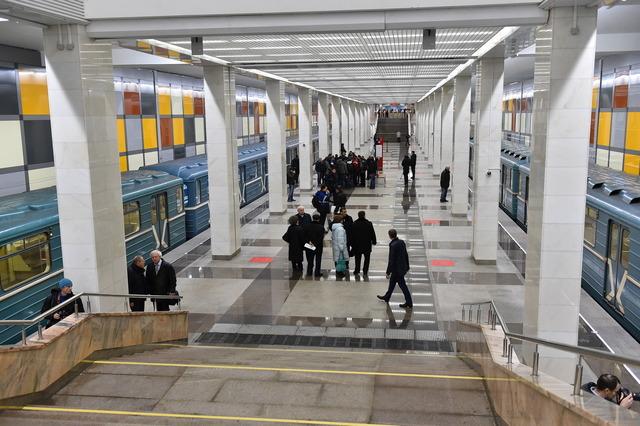 Открыта 200-я станция московской подземки - Саларьево