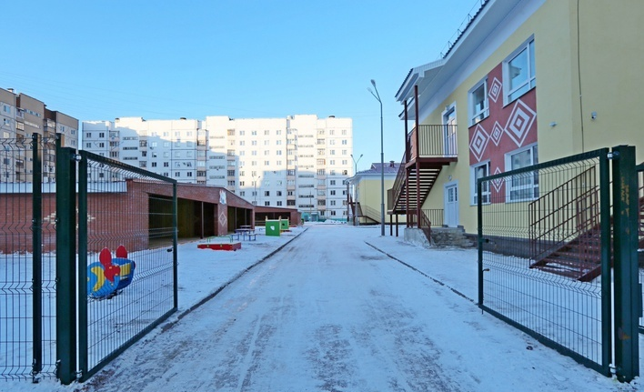 Открытие детского сада в УФЕ