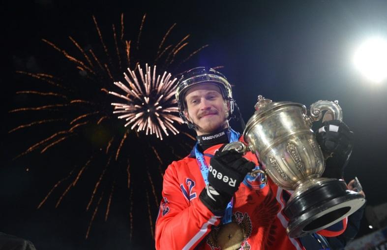 Российские хоккеисты чемпионы