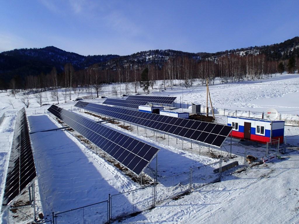 Солнечная электростанция в Чите