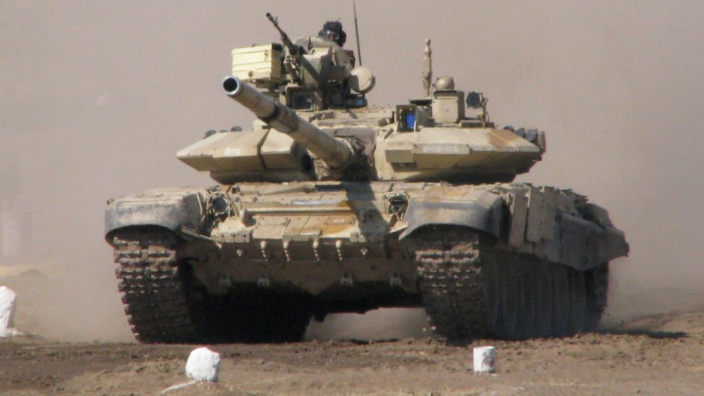 Танк Т-90 в Сирии