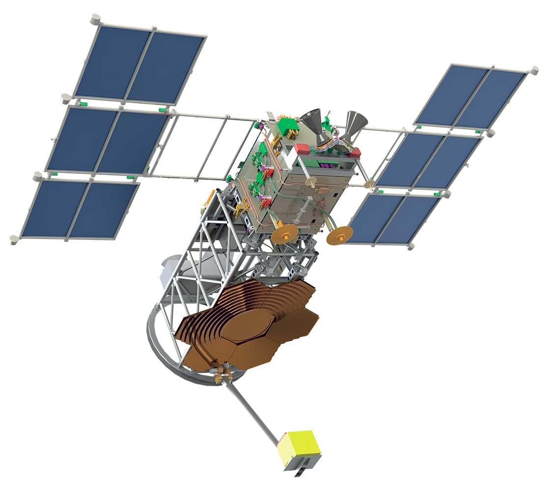 Ученые МГУ презентовали космический спутник Михайло Ломоносов