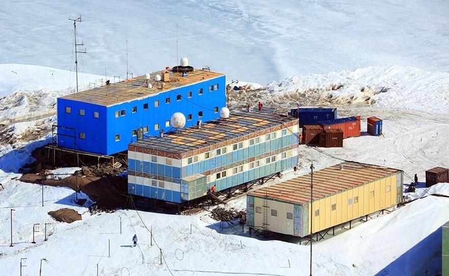 В Антарктиде на станции мирный открыт аэродром