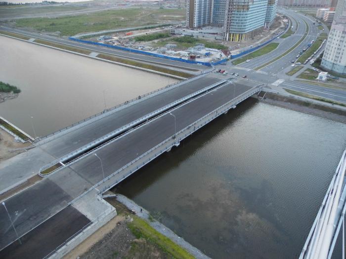 В Санкт-Петербурге построен мост через Дудергофский канал