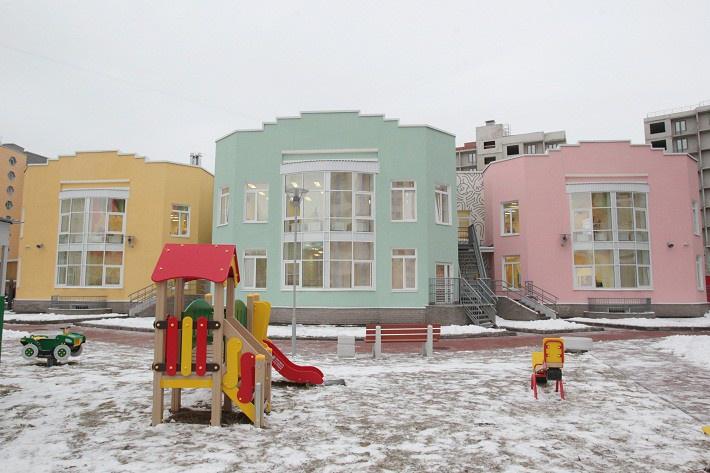 В Санкт-Петербурге в Петроградском районе открыт детский сад с бассейном