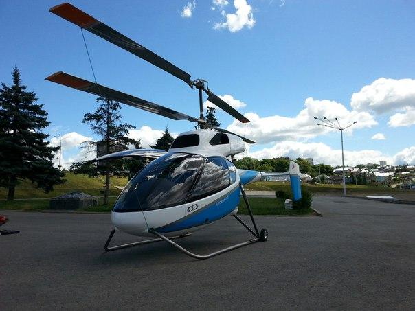 В Уфе представили самый маленький вертолёт в мире Р-33