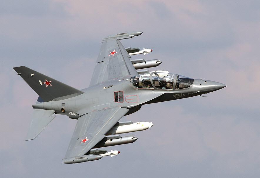 ВКС России за 5 лет получили более 60 учебно-боевых самолетов Як-130