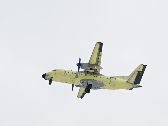 12-й самолет Ан-140 совершил первый полет