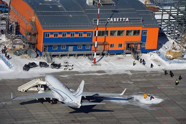 Аэропорт Сабетта на Ямале впервые принял международный рейс