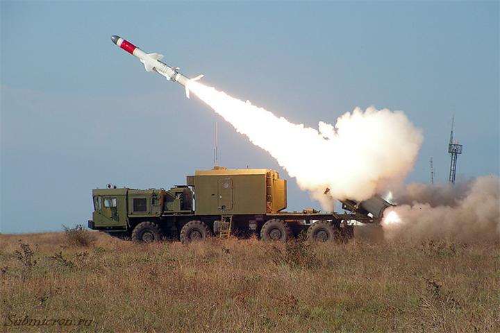 Береговой ракетный комплекс Бастион поступил на вооружение Тихоокеанского флота