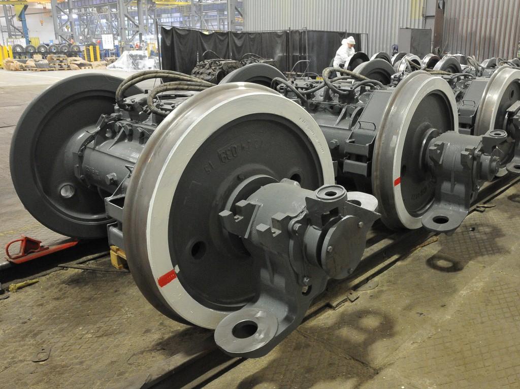 Брянский машиностроительный завод перешел на выпуск модернизированных колесно-моторных блоков