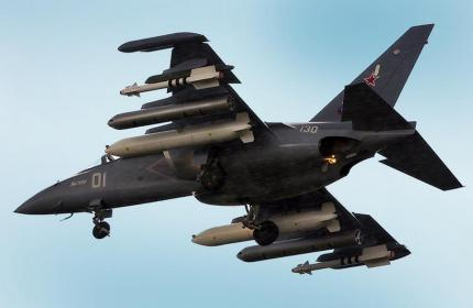 Количество учебно-боевых самолетов Як-130 на вооружении ВКС России превысило 60 единиц