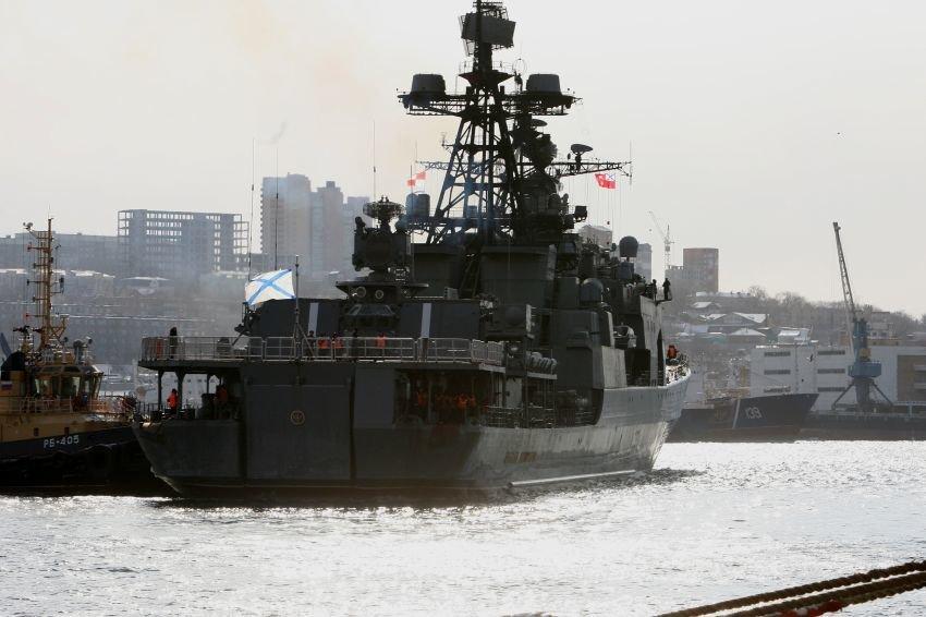Корабли ВМФ отправились в поход в Тихий океан