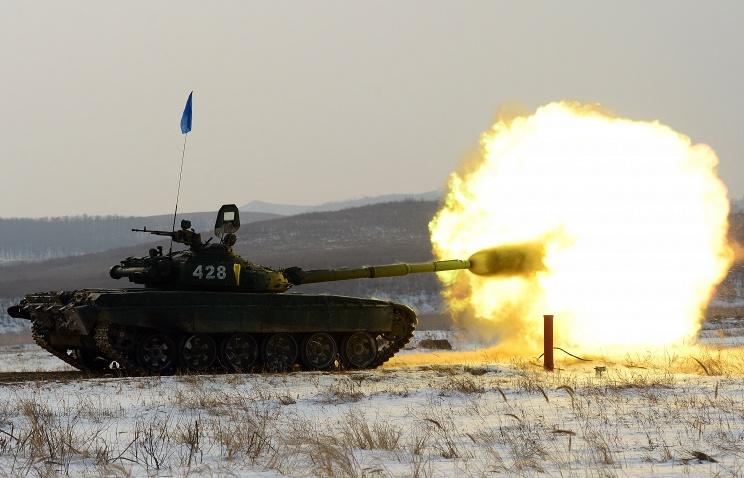 Минобороны получит 150 модернизированных танков Т-72Б3