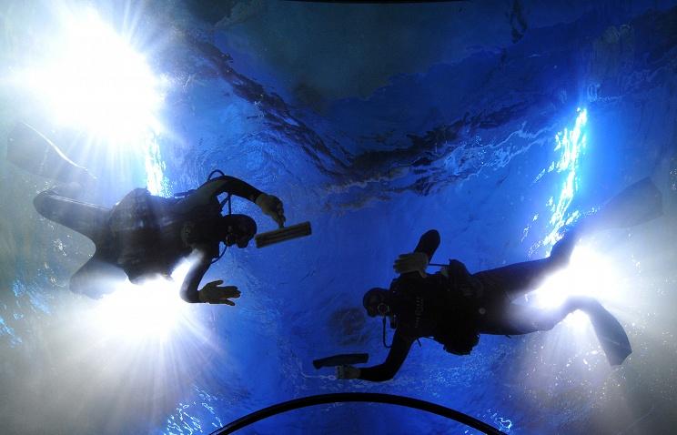 Мировой рекорд подледного погружения установлен российскими аквалангистами