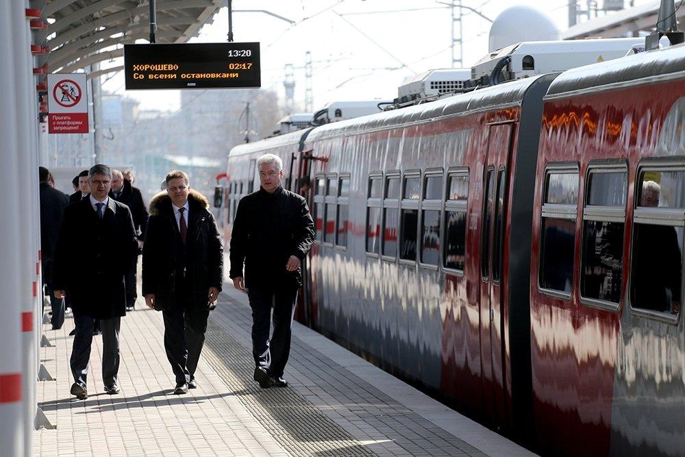 Московская кольцевая железная дорога готова на 78 процентов - Собянин 2