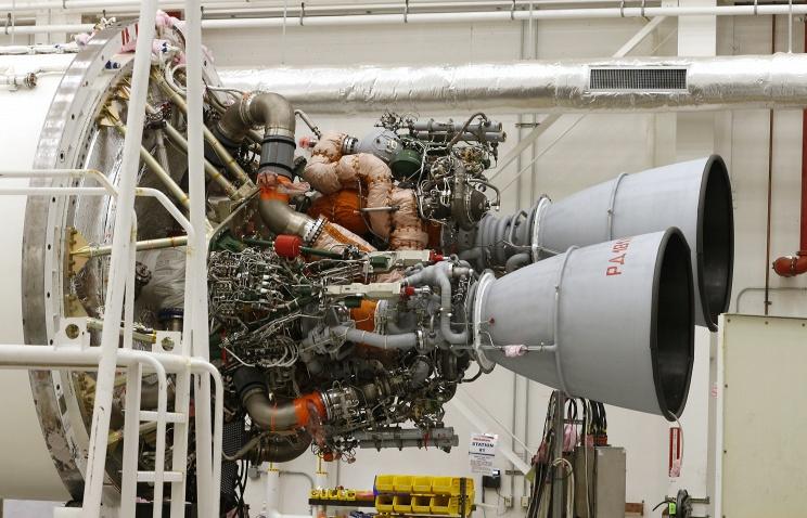 НПО Энергомаш поставит восемь ракетных двигателей РД-181 в США