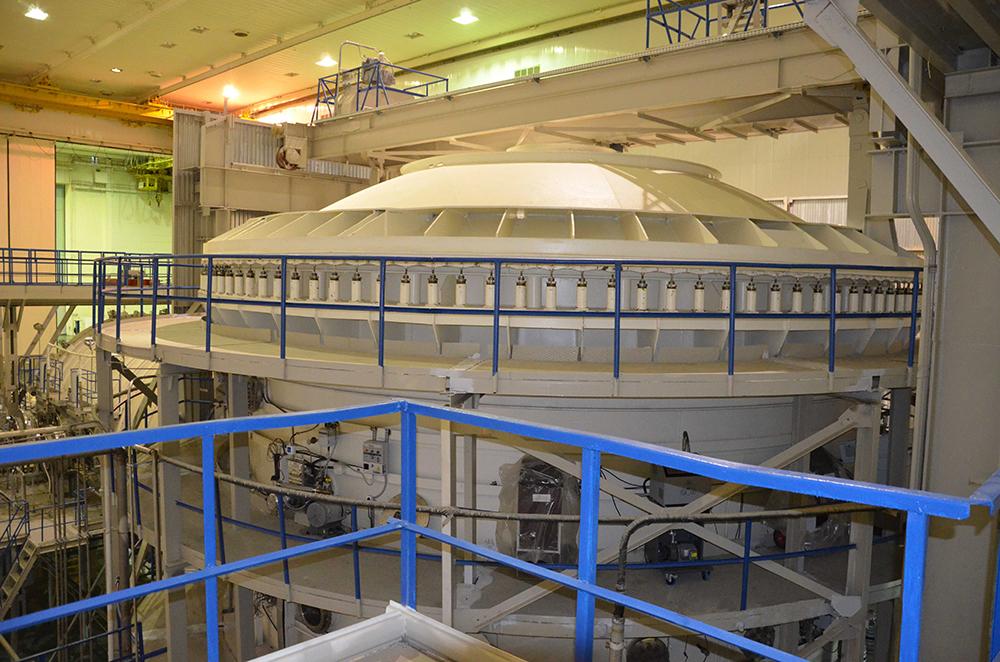 На Байконуре введен в эксплуатацию вакуумный комплекс для испытаний космической техники