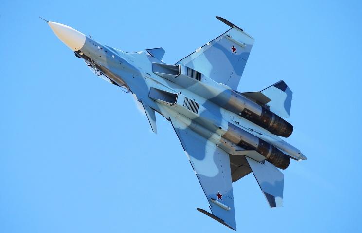 На Черноморском флоте сформирована эскадрилья из восьми истребителей Су-30СМ