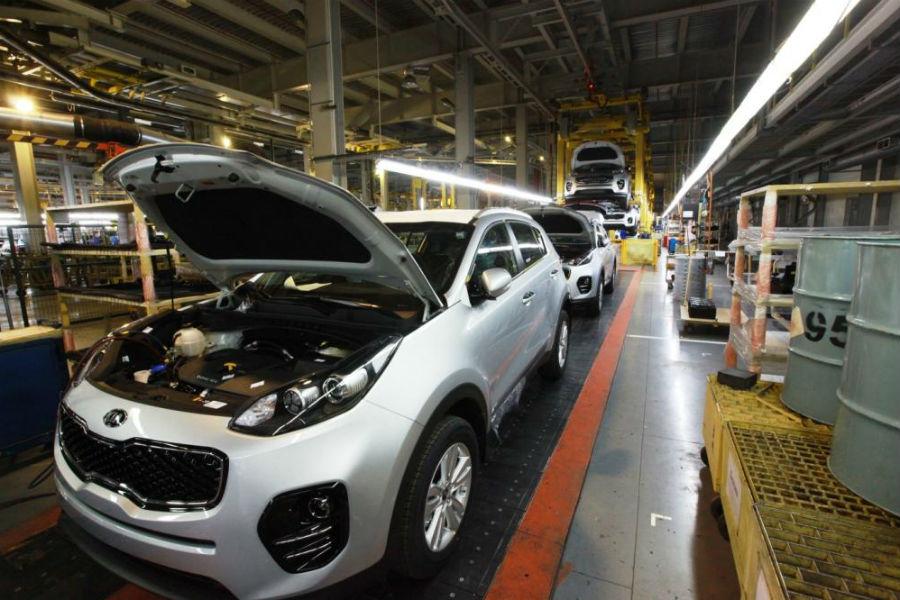 На калининградском заводе Автотор начался выпуск нового кроссовера марки KIA