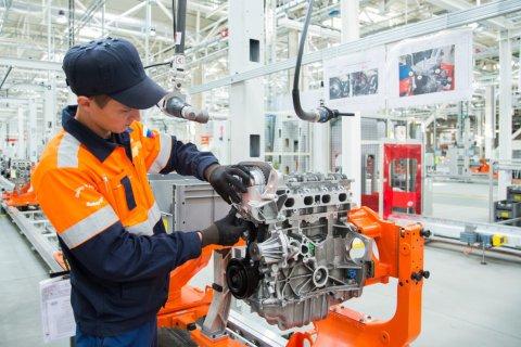 На заводе Ford Sollers в Елабуге с конвейера сошел 5-тысячный двигатель