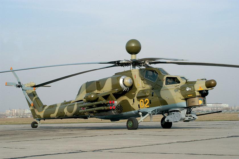 Начался выпуск новой модификации вертолета Ми-28НЭ Ночной охотник