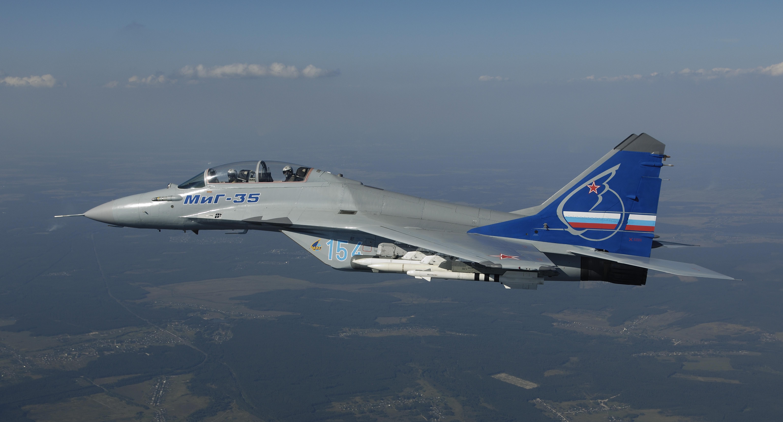 Представлена первая партия многоцелевых истребителей МиГ-35