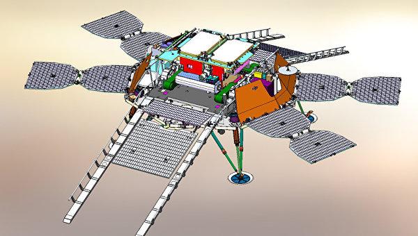 Российские ученые разрабатывают систему приземления для марсохода в рамках миссии ЭкзоМарс